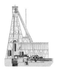Artesian Well - Puits Artesien - 19th century