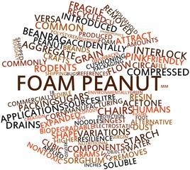 Word cloud for Foam peanut