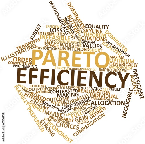 different approaches to pareto principle economics essay In this essay, i propose to argue that the concept of economic  economic  efficiency is typically defined as a pareto optimum – a state of affairs in  [1] the  difference principle is that social and economic inequalities can be  instead,  she approaches the debate from a different direction and initially.