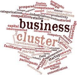Word cloud for Business cluster
