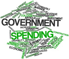 Word cloud for Government spending