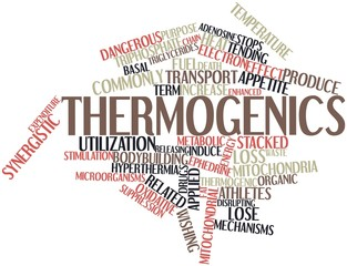 Word cloud for Thermogenics