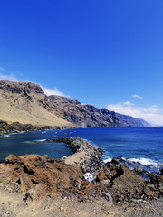 Los Gigantes(view from Punta Teno), Tenerife, Canary Islands