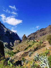Masca(Teno Mountains), Tenerife, Canary Islands, Spain