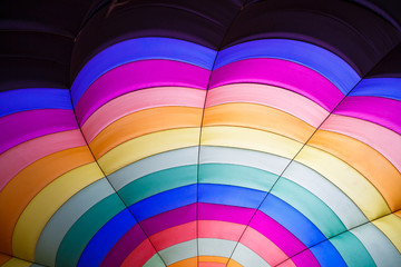 Hot air balloon inside