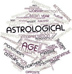 Word cloud for Astrological age