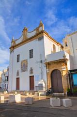Church of St. Maria della Purità. Gallipoli. Puglia. Italy.