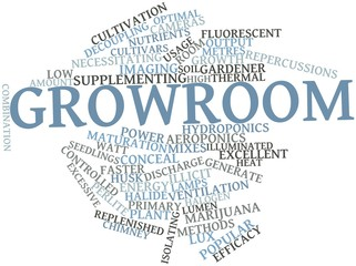 Word cloud for Growroom