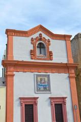 Church of SS. Crocifisso. Gallipoli. Puglia. Italy.
