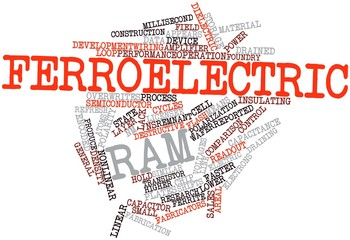 Word cloud for Ferroelectric RAM