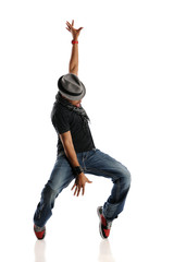 HIp Hop Dancer performing