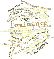 Word cloud for Dominance