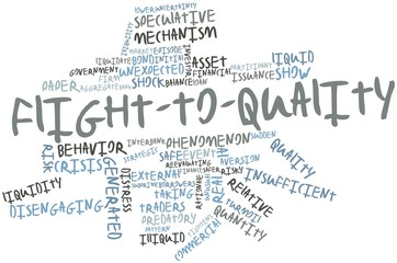 Word cloud for Flight-to-quality