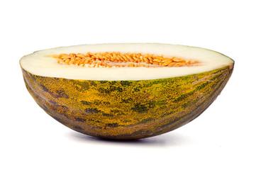 Half a honeydew melon
