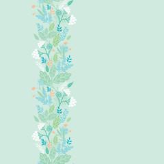 Vertical spring berries vertical seamless pattern background
