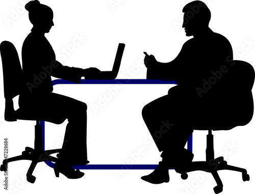 Quot Business Background With Business People Silhouette