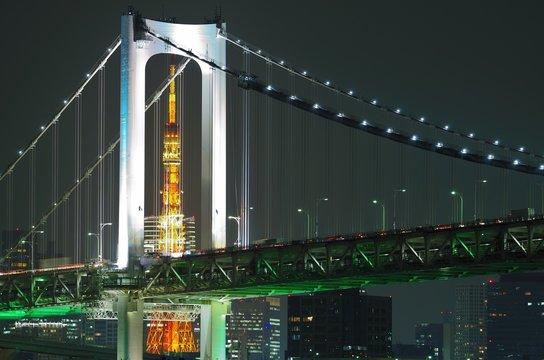 Rainbowbridge & Tokyo Tower