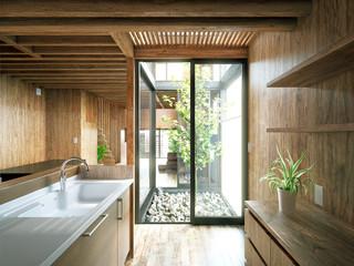 Luxury wooden apartment - Holzhaus mit Terrasse Wall mural