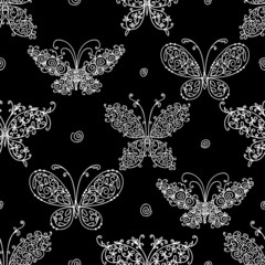 Butterfly pattern for your design