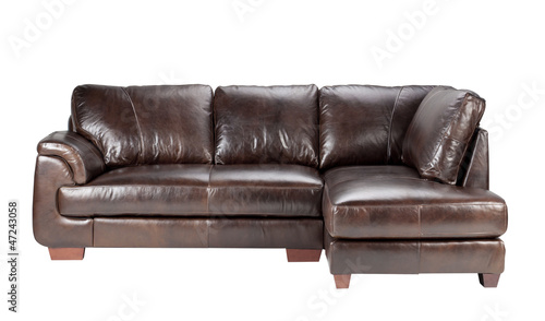 Nice And Comfortable Luxury Genuine Leather Sofa Bench
