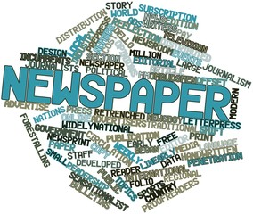 Word cloud for Newspaper