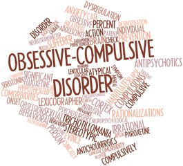 Word cloud for Obsessive-compulsive disorder