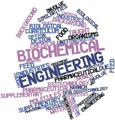 Word cloud for Biochemical engineering