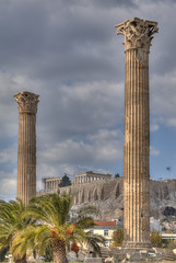 Fototapete - Parthenon temple on the Athenian Acropolis, Greece