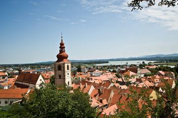 Stadtansicht von Ptuj