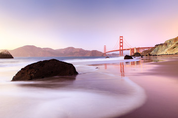 Photo sur Plexiglas San Francisco Golden Gate Bridge San Francisco