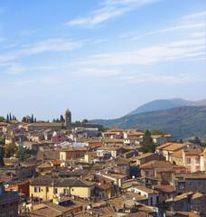 Wall Mural - Tuscany sigths, perugia panorama