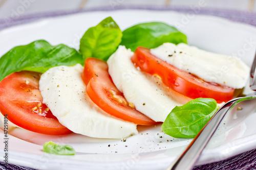 abends tomate mozzarella abnehmen