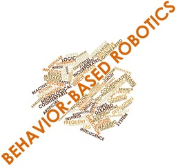 Word cloud for Behavior-based robotics