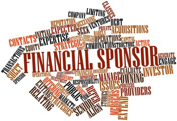 Word cloud for Financial sponsor