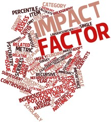Word cloud for Impact factor