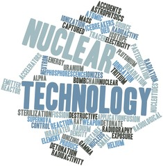 Word cloud for Nuclear technology