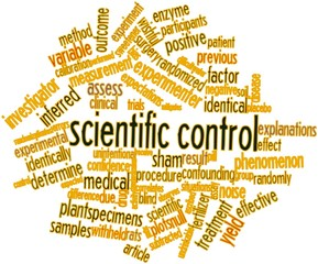 Word cloud for Scientific control