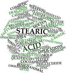 Word cloud for Stearic acid