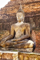 Old ansient buddha