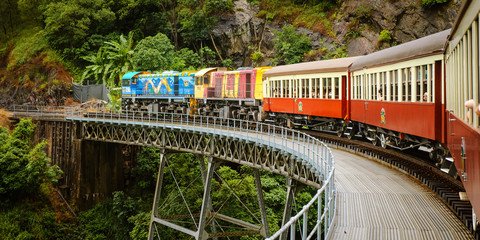 Fototapeta Kuranda Scenic Train, Queensland, Australia obraz