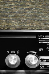 Vintage radio buttons