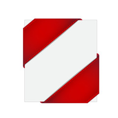 Corner ribbon