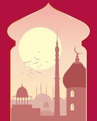 islamic day scene