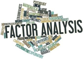 Word cloud for Factor analysis