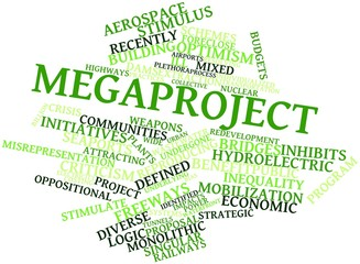 Word cloud for Megaproject