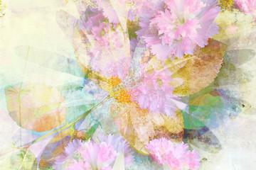 Beautiful floral design background
