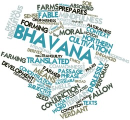Word cloud for Bhavana