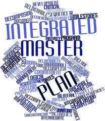 Word cloud for Integrated master plan