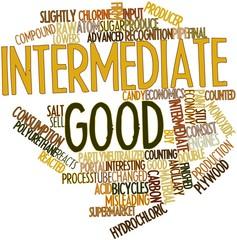 Word cloud for Intermediate good