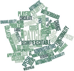 Word cloud for Patch